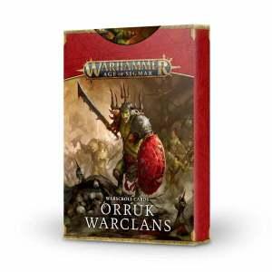 Warscroll Cards: Orruk Warclans