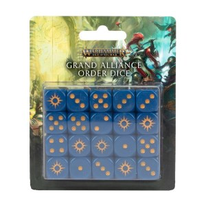 Grand Alliance Order Dice Set