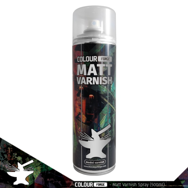 Colour Forge Matt Varnish Spray (500ml)