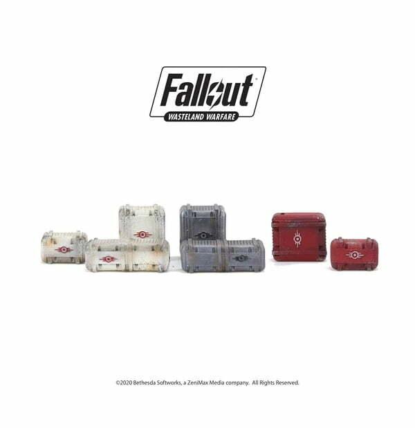 Fallout: Wasteland Warfare - Terrain Expansion: Vault Tec Supplies
