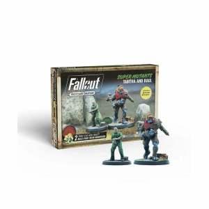Fallout: Wasteland Warfare - Super Mutants: Tabitha and Raul