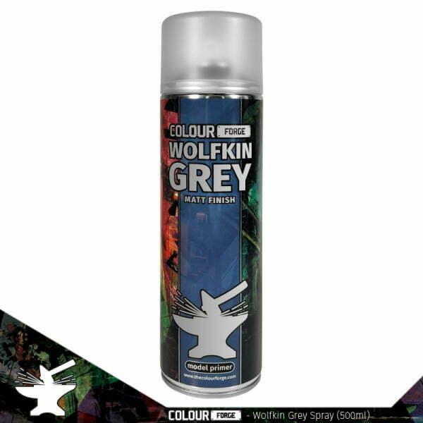 Colour Forge Wolfkin Grey Spray (500ml)