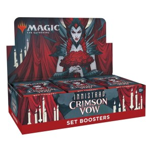 Magic the Gathering Innistrad: Crimson Vow Set Booster Box