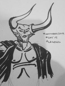 Inktober2019 Day15 legend