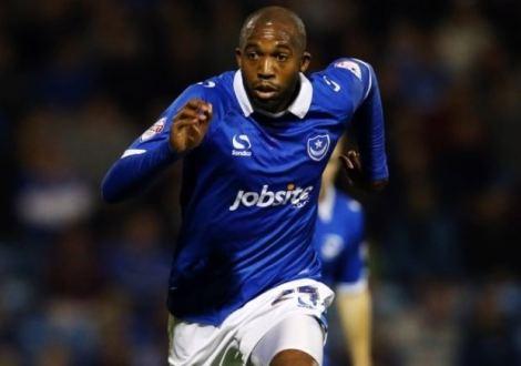 Nigel Atangana sous les couleurs de Portsmouth