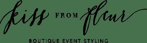 Kiss from Fleur Logo