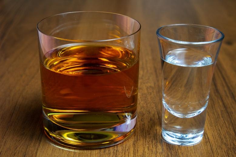 чем водка отличается от виски