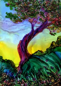 Alcohol Ink by Francine Dufour Jones