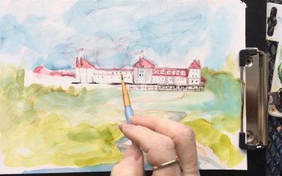 Mount Washington in New Hampshire:  Plein Air Painting Lesson