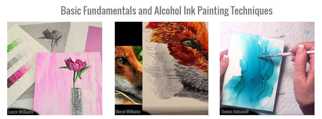 Alcohol Ink Basic Fundamentals and Techniques
