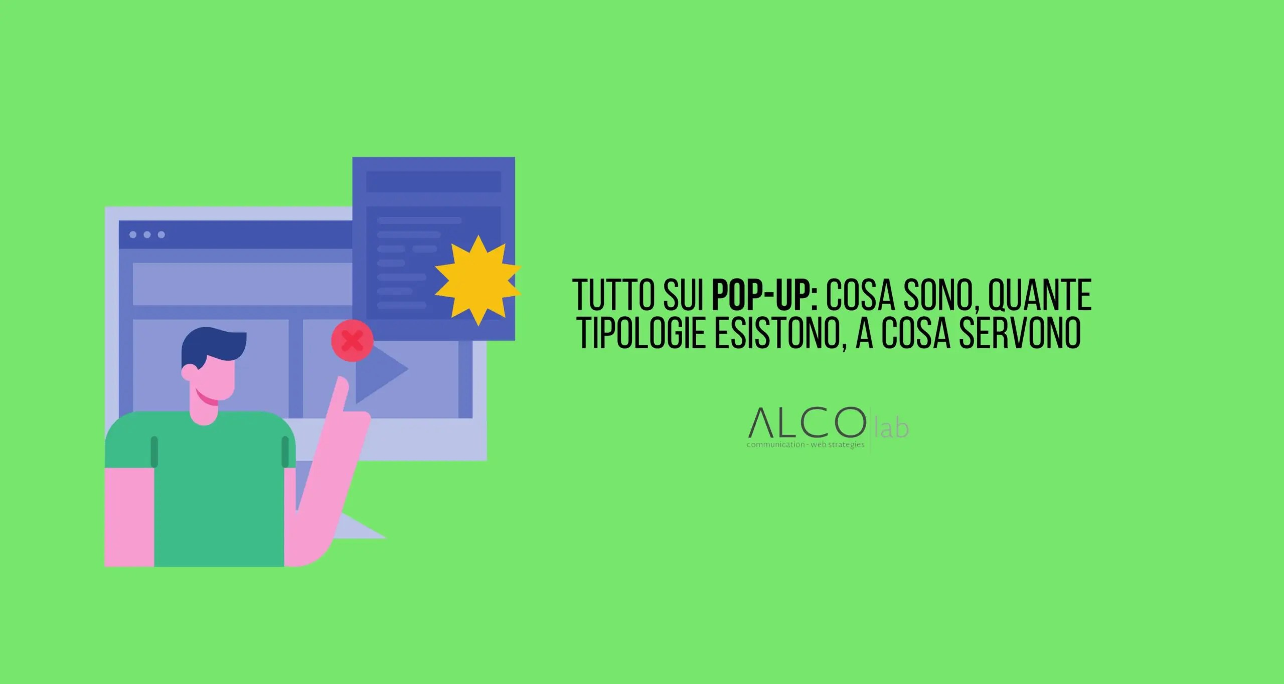 cos'è un pop up