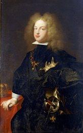 Felipe V, oleo sobre tela por François-Honoré Rigaud. 1701