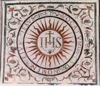 Escudo de los jesuitas.