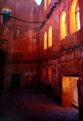 Ruinas de la misión jesuita de Batopilas, Chihuahua, México.