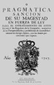 Decreto real para la expulsión de los jesuitas de todos los territorios de la Corona Española.