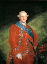 Carlos IV por Francisco de Goya, rey de España de 1788 hasta su renuncia en 1808.