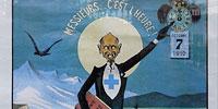 Смерть «Зелёной Феи». Плакат выражающий недовольство запрещением абсента в Швейцарии