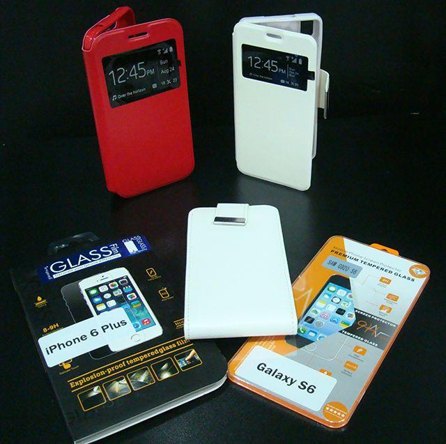 Fundas de piel BQ y primeras marcas a 9€. Protector de pantalla de cristal templado para primeras marcas a 7€.