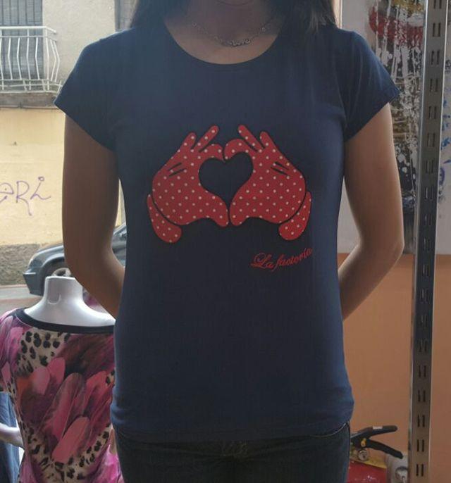Camisetas para ella, comodas y funcionales.