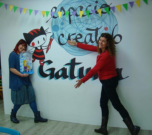 Gatuna Espacio creativo lleva con nosotros en Alcorcón desde hace 3 años para ayudarnos a ser un poquito más felices.