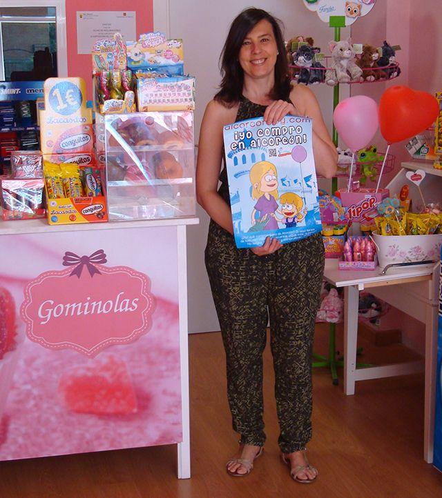 Tienda de dulces Gominolas es una tienda de dulces de reciente apertura en Alcorcón, realizan talleres de cupcakes, galletas y gominolas,