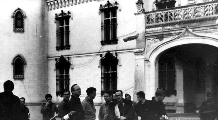 La Falange española en Alcorcón