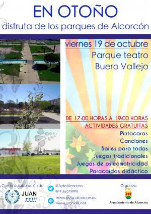 """En otoño nuevas sesiones del programa """"Asómate a los parques"""""""