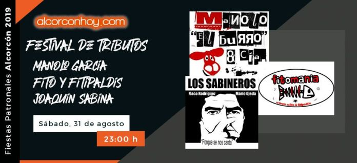Fiestas Patronales Alcorcón 2019 - Tributos