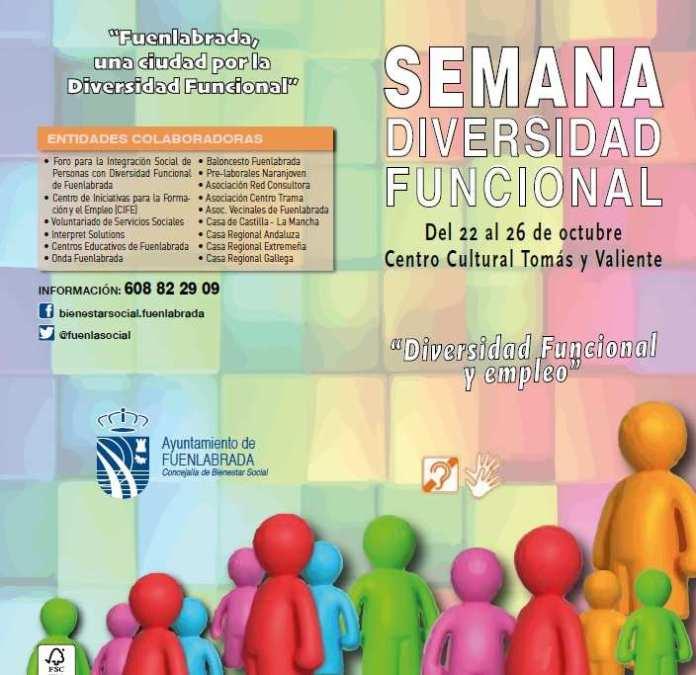 Fuenlabrada celebra la Semana de la Diversidad Funcional.