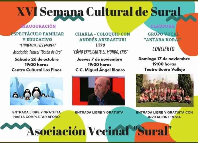 XVI Semana Cultural de la AA.VV. Sural de Alcorcón