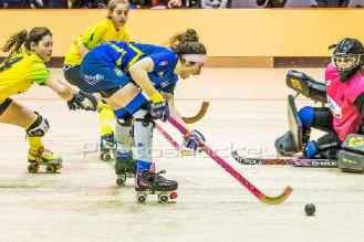 El Patín Alcorcón se clasifica para la Copa de la Reina de Hockey