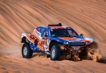 Alcorcón en el Rally Dakar