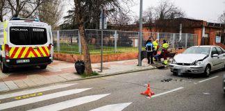Varios incidentes en las últimas horas en Alcorcón. Accidente e intento de suicidio en Alcorcón.