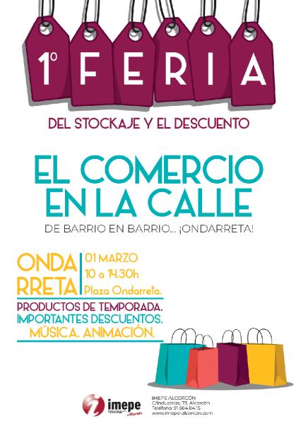 I Feria del Stockaje y el Descuento de Alcorcón