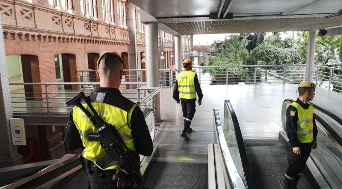 La UME se despliega en Alcorcón y en todo el sur de Madrid