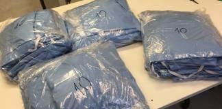 La URJC confecciona mascarillas, batas y almohadas contra el coronavirus