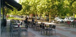 Más espacio para las terrazas y suspensión de la tasa en Alcorcón