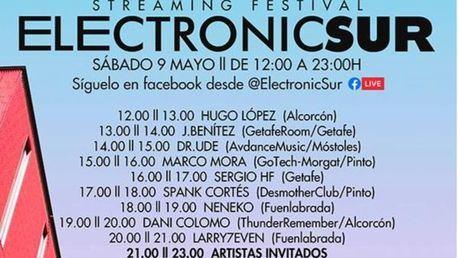 Este sábado 9 de mayo Electronic Sur en Alcorcón