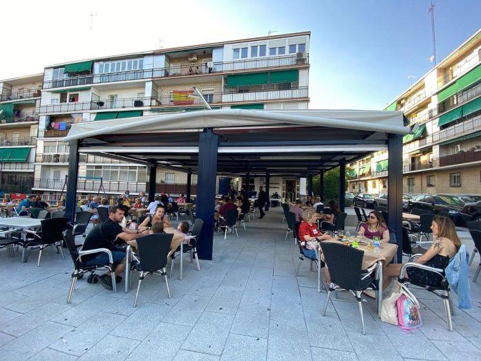 El Acebo y La Marcela las mejores terrazas de Alcorcón en la desescalada