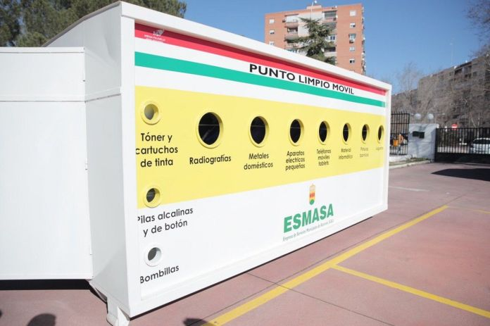 Puntos limpios móviles en Alcorcón