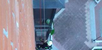 Una docena de incidencias por el viento en Alcorcón
