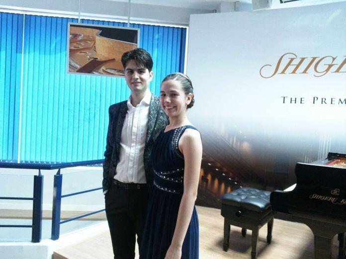 Dos hermanos de Alcorcón, campeones internacionales de piano