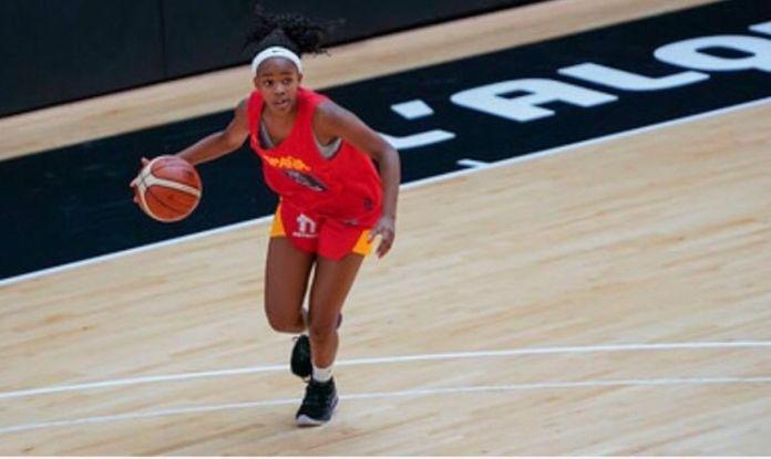 Una joven de Alcorcón, con la selección española