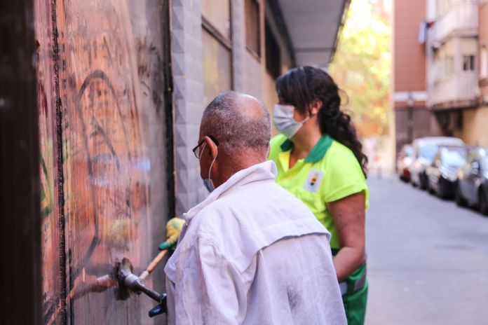"""Cada jueves Alcorcón se limpia """"Barrio a Barrio"""""""