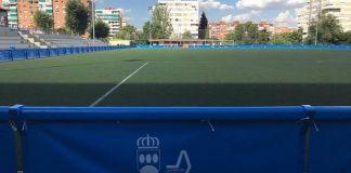 Remodelación en los campos de fútbol Alfredo Cenarriaga de Alcorcón