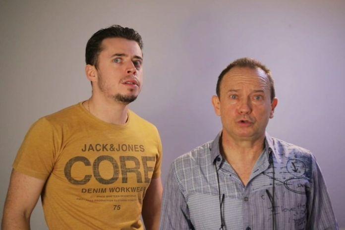 La genial escena audiovisual de dos actores de Alcorcón, padre e hijo