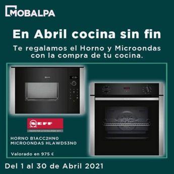 Horno y microondas gratis con Mobalpa en Alcorcón