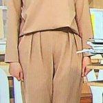 三田友梨佳アナ(ミタパン)のベージュ衣装の画像!グッディで何も着てない?