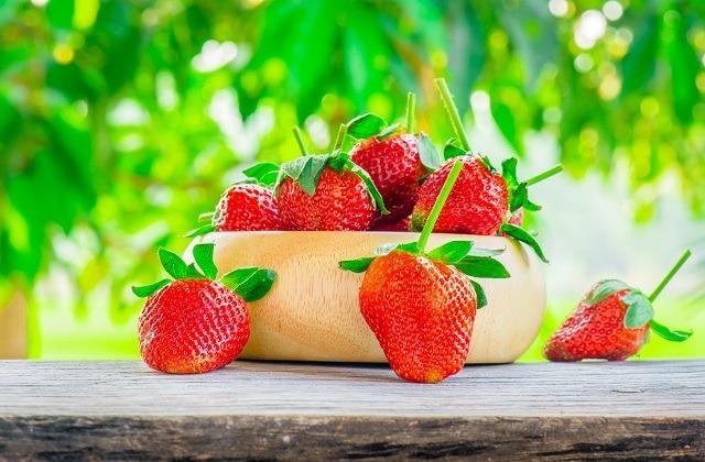 strawberrys in Spain