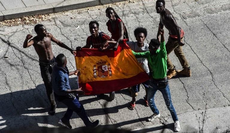 SPAIN-MOROCCO-EUROPE-MIGRANTS